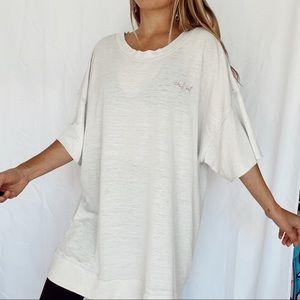 free people oversized t shirt